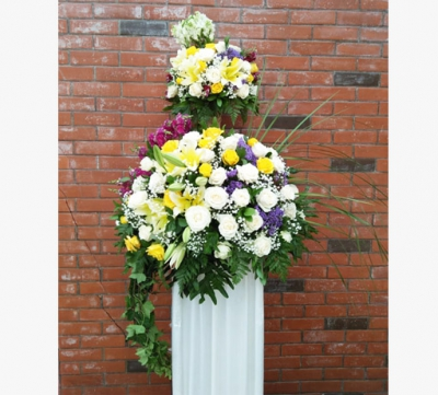 Standing Flowers 05
